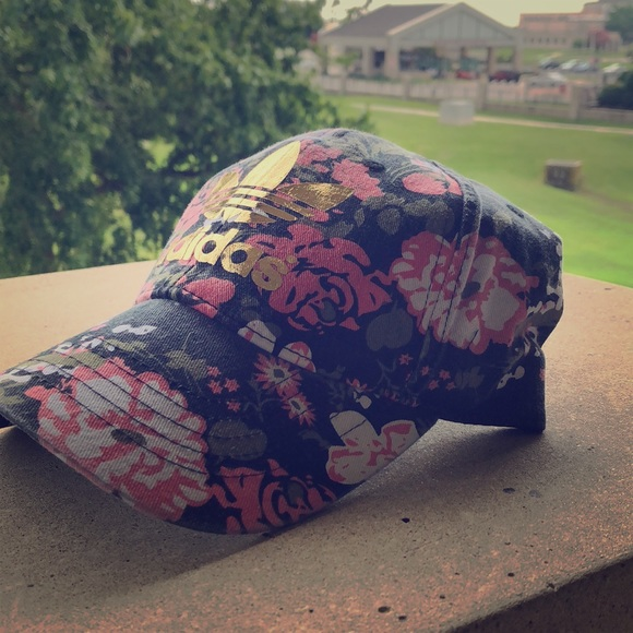 Accessories - Floral Adidas Hat 502bf1e86d